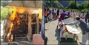Uttar Pradesh News: CM yogi father crimination at rishikesh pics