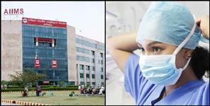 110 health workers coronavirus positive in Rishikesh AIIMS