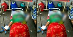 haridwar: Husband attacked his estranged wife with a sharp weapon