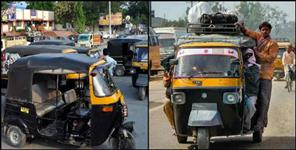 Auto drivers can not get higher fare in Doon dial 112