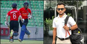 special: shashwat rawat of uttarakhand selected in india u 19 team for asia cup