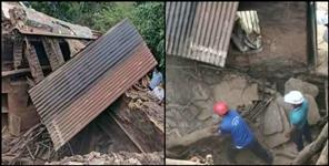 Woman dies after falling roof of Devprayag house
