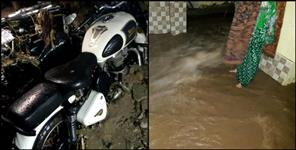 uttarakhand: HEAVEY RAIN FALL IN AGASTYAMUNI
