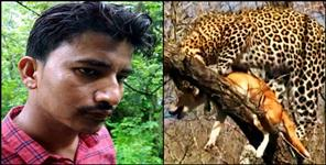 story of uttarakhand bhikiyasain man saved dog from leopard