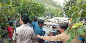 गढ़वाल: road accident in rudraprayag