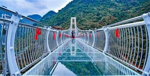 GLASS BRIDGE IN RISHIKESH