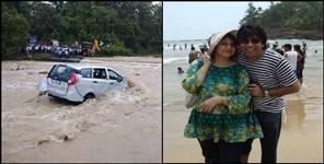 latest uttarakhand news: dhangari nala update car fallen