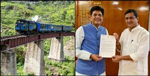 national: dehradun-haldwani rail distance would be lessened soon