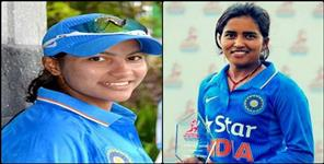 Ekta Bisht and Sneha Rana join the Indian team