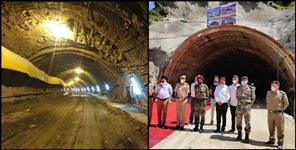 All weather road chamba tunnel