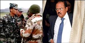 NSA Ajit Doval talks on the chinese front