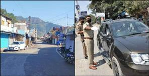 Pahadi people obeying rules while uttarakhand lockdown