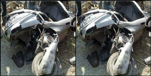scooty ripped in rani pokhri youth died