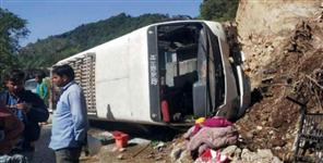 bus accident in gangotri rishikesh highway