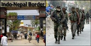 pithoragarh: security alert at uttarakhand nepal border for diwali