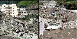 latest-uttarakhand-news: badrinath highway Cloudburst