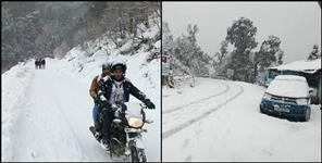 Cold wave rainfall and fog alert in Uttarakhand