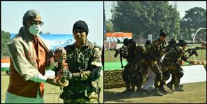 Pooja rani of didihaat to lead women commando force of uttarakhand