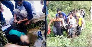 two student drown in Rainwater stream in pithoragarh