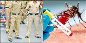 Dengue attack on 25 police personnel in rishikesh kotwali