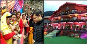 royal wedding in auli uttarakhand