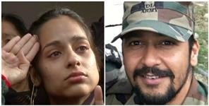 Martyr vibhuti dhondiyal wife nikita vibhuti dhaundiyal become officer in Indian army