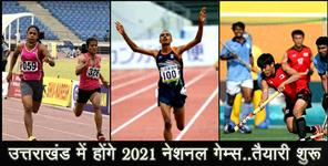 2021 NATIONAL GAMES IN UTTARAKHAND