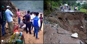 almora: Child dies in landslide