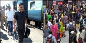 dehradun: Bomb in utkal express rumour search operation in railway station