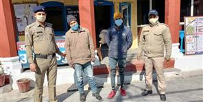 Two bike thieves arrested in Almora