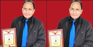 Uttarakhand teacher prakash madhwal got international award