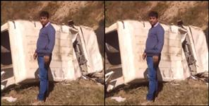Road accident in almora