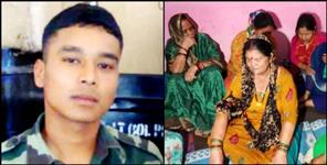 sandeep thapa martyr in naushera rajouri latest update