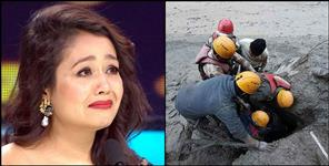 Neha Kakkar gives 3 lakh rupees to the family of laborer missing in Chamoli disaster