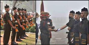 192 jawans joined the Garhwal Rifle Army