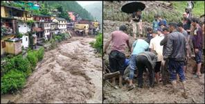 uttarakhand: WEATHER AND natural calamity UTTARAKHAND