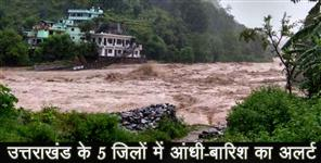 chamoli: WEATHER FORECAST FOR UTTARAKHAND