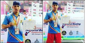 Jaideep Rawat of Pauri Garhwal won gold medal in boxing
