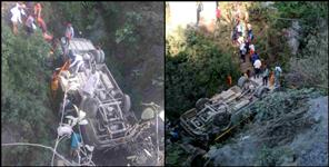 road accident in badrinath highway many people injured