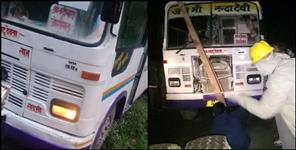 27 PEOPLE SAVED FROM BUS ACCIDENT IN UTTARKASHI