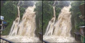 Rampage in Kempty Fall due to rain in Mussoorie