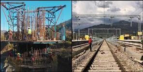 Demarcation work of Badri Kedar railway line completed