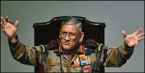 कश्मीर: bipin rawat on kargil war