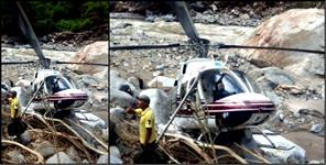 second helicopter fallen in uttarkashi latest updates