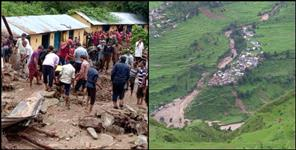 uttarakhand: heavey rainfall in uttarakhand three districts
