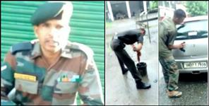 dehradun: Army jawan yagyapratap singh wife blame army officers