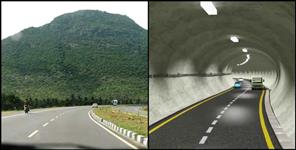 Hi-tech tunnel on Badrinath highway