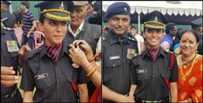 latest-uttarakhand-news: Manisha became officer in Indian army