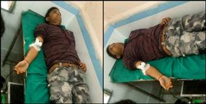 chamoli police constable blood donation saved woman life