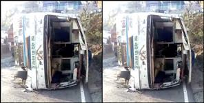 Bus accident in nainital uttarakhand
